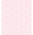 Pink lace pattern vector image