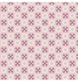 Rose Quartz flower seamless pattern vector image vector image
