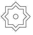 rub el hisb icon vector image
