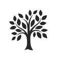 simple black tree decor images vector image vector image