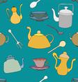 Tea Patterned Background vector image