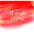 Watercolor Paint Abstract Background vector image