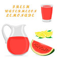 the lemonade vector image
