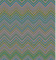Colorful zigzag stripe pattern background design vector image vector image