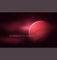 deep space sci-fi abstract vector image vector image