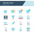 dental care prevention check up and vector image