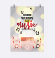 music pattern sound system audio acoustic vector image