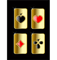 play card set vector image vector image