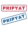 Pripyat Rubber Stamps vector image vector image