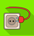 socket plug iconflat icon