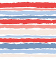 tile pattern with red and white stripes background vector image vector image