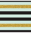 Trendy gold strip seamless pattern vector image vector image
