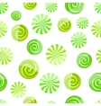 green mint striped candy seamless pattern vector image