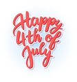 happy independence day United States of vector image vector image