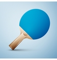 Ping pong racket vector image vector image