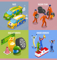 racing sports concept icons set vector image vector image