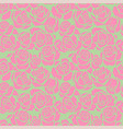 seamless patternwith pink roses vector image vector image
