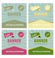 set of sale banner big sale banner template vector image vector image