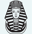 Portrait of Pharaoh vector image