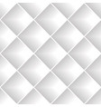 gray diagonal squares seamless pattern vector image