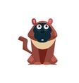 Macaque Funny vector image