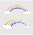 rainbow beauty design vector image