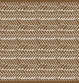 woven seamless pattern braided mat vector image