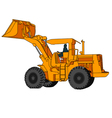 Back Hoe vector image