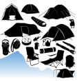 Camping equipments vector | Price: 1 Credit (USD $1)