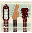 retro music festival poster isolated icon design vector image