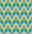 abstract zigzag linear pattern vector image vector image