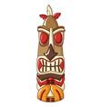 aztec hawaii idol icon cartoon style vector image vector image