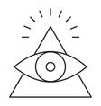 cao dai icon vector image