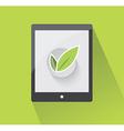 Ecological design element vector image vector image