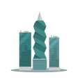Panama-City Buildings Flat vector image