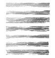 tire prints black car tyres track grunge marks vector image vector image