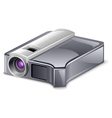 video projector vector image vector image