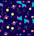 90s style pattern vector image vector image