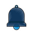 bell service assitance alarm support vector image vector image