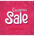 Christmas Sale doodle poster vector image