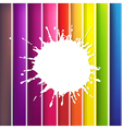 color background with blob vector image vector image