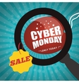 cyber monday sale event vector image vector image
