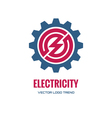 Electricity - logo concept vector image vector image