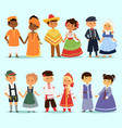 Lttle kids children couples character of world