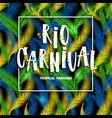 rio de janeiro from brazil vector image vector image