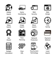 Seo Icons Vol 3 vector image vector image