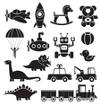 toys icon vector image vector image