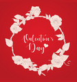 valentines dayhand drawn vector image vector image