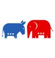 american political parties vector image vector image