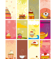 Card Set Sweet Love vector image